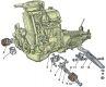 Подвеска двигателя и кпп