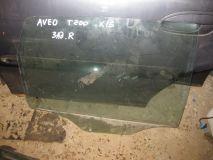 Стекло двери задней правой Chevrolet Aveo (T200)