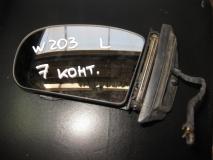 Зеркало левое электрическое Mercedes Benz W203