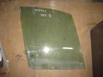 Стекло двери передней правой Renault Scenic 1999-2002