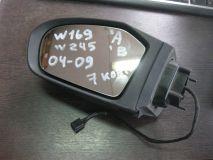 Зеркало левое электрическое Mercedes Benz W169
