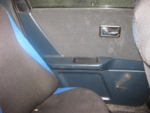 Обшивка двери задней левой Audi 80 B3