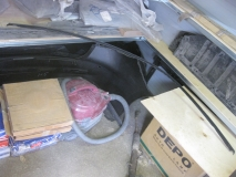 Молдинг крыши правый Peugeot 206
