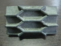Заглушка решетки переднего бампера Mitsubishi Outlander XL
