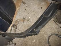 Накладка порога задняя правая Peugeot 207