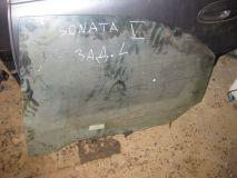 Стекло двери задней левой Hyundai Sonata V