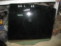 Стекло двери задней левой Mitsubishi Galant EA