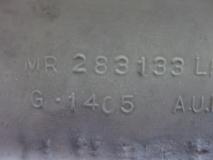 Накладка порога задняя левая Mitsubishi Galant EA