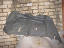 Обшивка багажника левая Mazda 6 (GG) 2002-2007