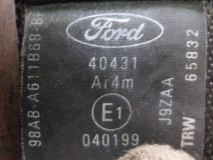 Ремень безопасности задний Ford Focus I