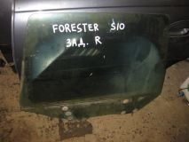 Стекло двери задней правой Subaru Forester S10